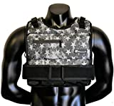 Strength sport systems Weight Vest (Short) - Premium Quality - Best for Cross fit Training - Running - Jogging - Fully Adjustable (S pro Weight Vest) (Elite II - S.T Camo, 70lbs(Iron bar Set))