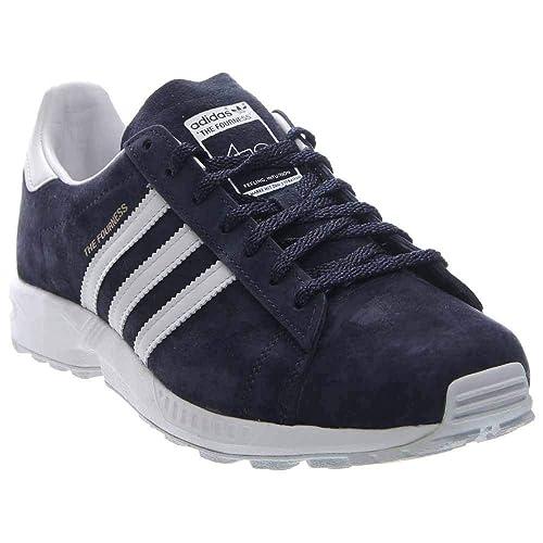adidasS82624 - Campus 8000 Fourness Hombre, Azul (Azul), 7 D(M) US: Amazon.es: Zapatos y complementos