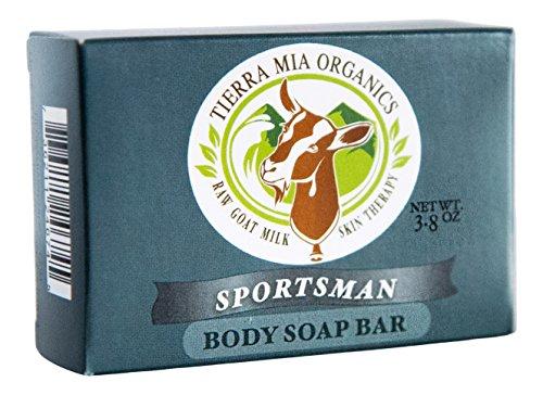 Tierra Mia Organics Sportsman Soap Bar, 4.2 Ounce