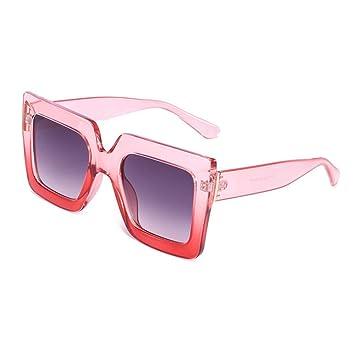 QDE Gafas de sol Gafas De Sol De Gran Tamaño para Mujer ...