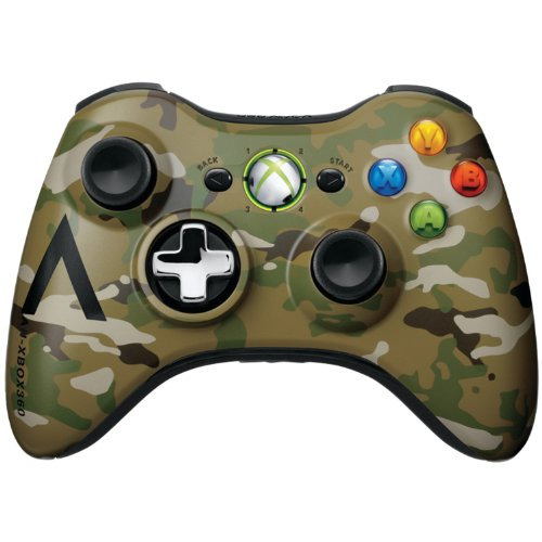 xbox 360 camo wireless controller - 1