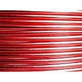 5 Mètres fil aluminium rouge 2mm Oasis ®