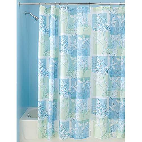 InterDesign Vivo Botanical Fabric Shower Curtain - 72