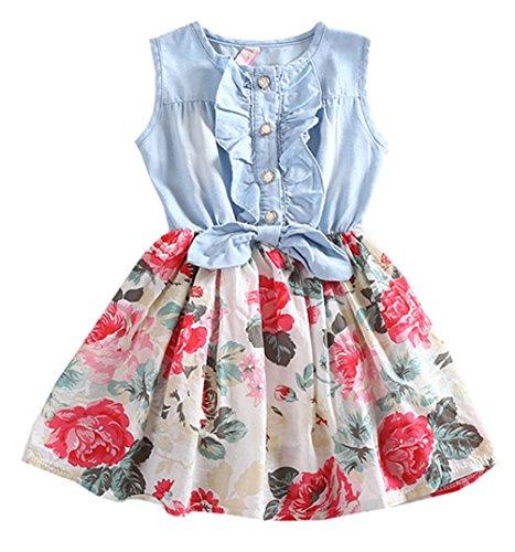 Just A Girl Denim Skirt - 9