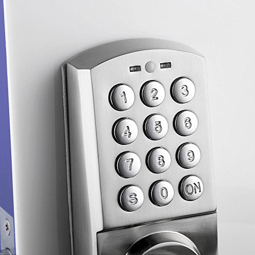 Keyless Electronic Code Keyless Keypad Security Entry Door