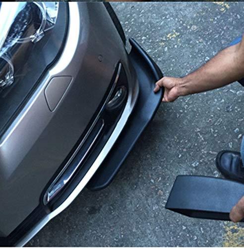 BEESCLOVER Car Front Bumper Lip Splitter Fins Body Spoiler Anti-Spill Flow or Shark Fin Spoiler