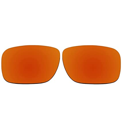 d53a964021 Amazon.com  ACOMPATIBLE Replacement Polarized Lenses for Oakley Holbrook  Sunglasses OO9102 (Fire Red Mirror)  Home Improvement