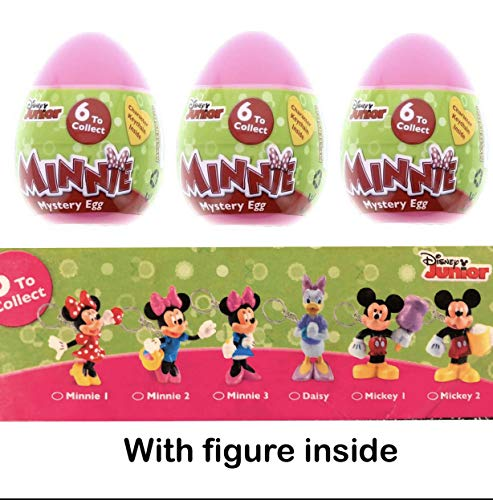 3 Minnie Mouse Surprise Eggs with Toy and Candy Inside. Exciting and Fun Toy By Bon Bon Buddies for Children As Seen in Unboxing and Unwrapping Videos on Youtube