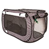 CheeringPet Cat Travel Cage: Portable Collapsible