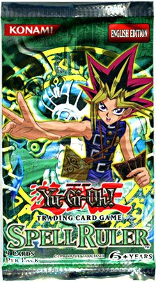 YuGiOh Magic Ruler Spell Ruler Booster Pack (Ruler Booster Pack)