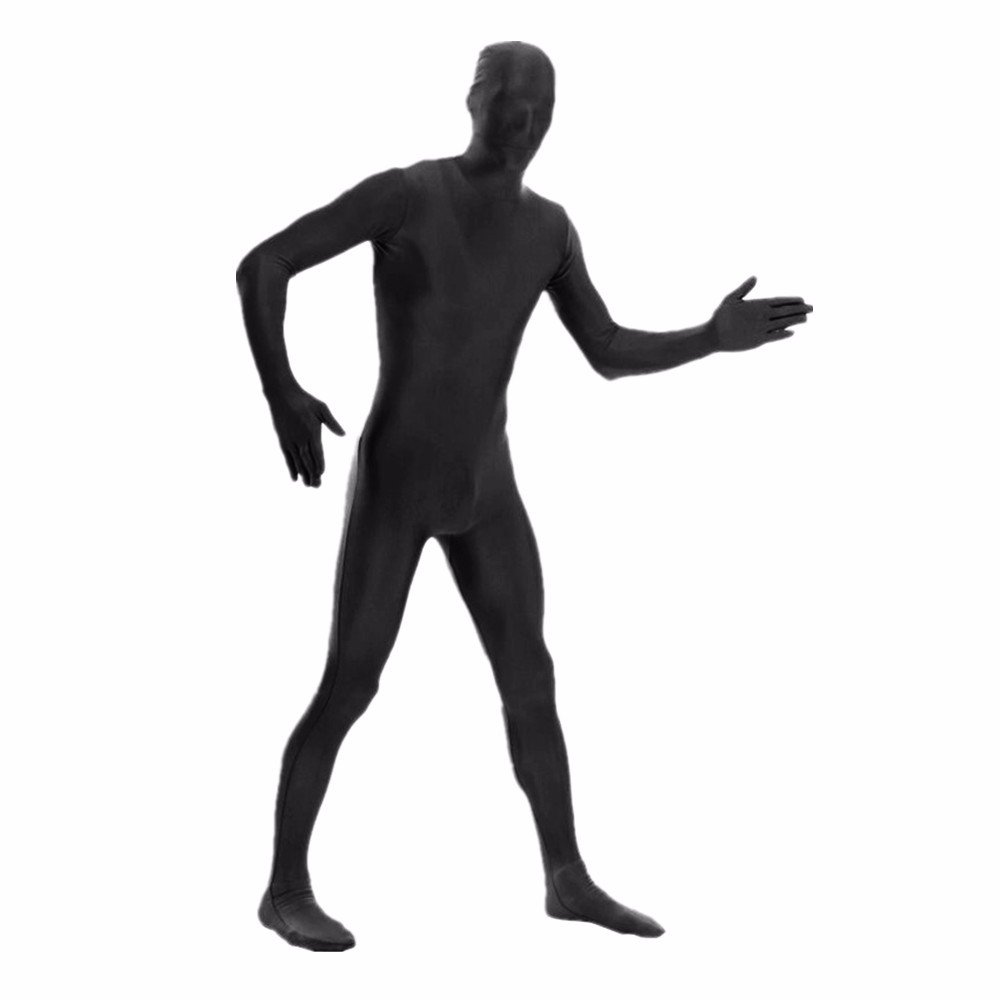 DreamHigh DH Men's Lycra Spandex Full Body Halloween Costume Zentai Suit