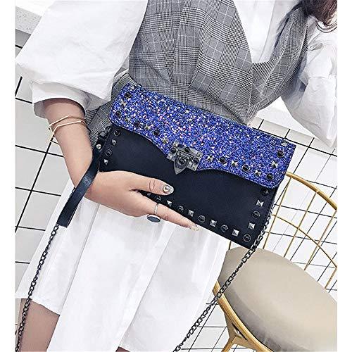 Fang1106 Fang1106 Femme Pour Bleu Pochette Pochette xSqw5qYRf