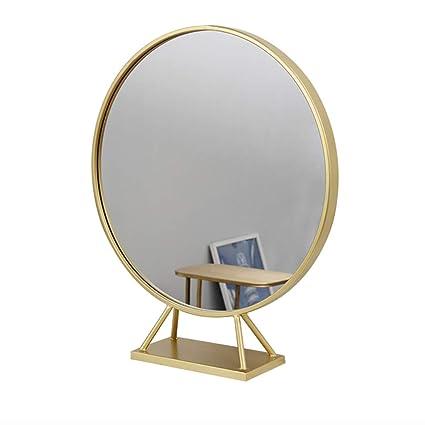 Amazon.com: wall mirror Home & Kitchen Home Décor Mirror Golden ...