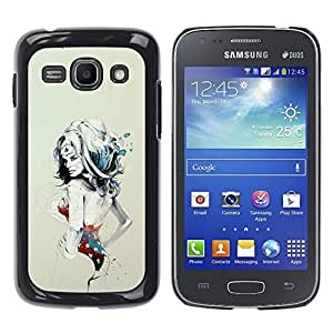 LOVE FOR Samsung Galaxy Ace 3 SEXY PIN UP WONDER WOMAN GIRL Personalized Design Custom DIY Case Cover