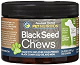 Amazing Herbs Black Seed Soft Chews for Dogs , 6.2 Gram Review
