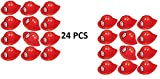 Ifavor123 Red Soft Plastic Firefighter Kids Party Dress Up Novelty Hat (24)