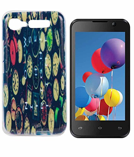 half off 3b141 1e83a Exclusive Rubberised Back Case Cover For Intex Aqua Y2: Amazon.in ...