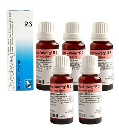 Amazon.com: 5 x Dr. reckeweg-germany r3- corazón gotas ...