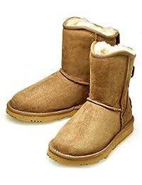 Women's Alexia Short Premium Twin-Faced Australian Sheepskin Winter Boot