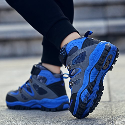 Boots Boys Hiking blue Sneaker Shoes Girl Waterproof Kids Littleplum Hiking for Boot Hiking thin 1 TwEtx