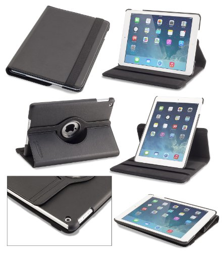 devicewear detour ipad air case rotating vegan leather. Black Bedroom Furniture Sets. Home Design Ideas