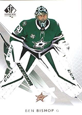 7de79fc92 2017-18 SP Authentic  86 Ben Bishop Dallas Stars NHL Upper Deck Hockey Card