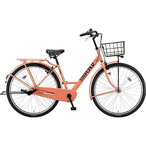ブリヂストン シティサイクル自転車 ステップクルーズ SC73T E.Xサニーピンク E.Xサニーピンク   B07J2Y94KL