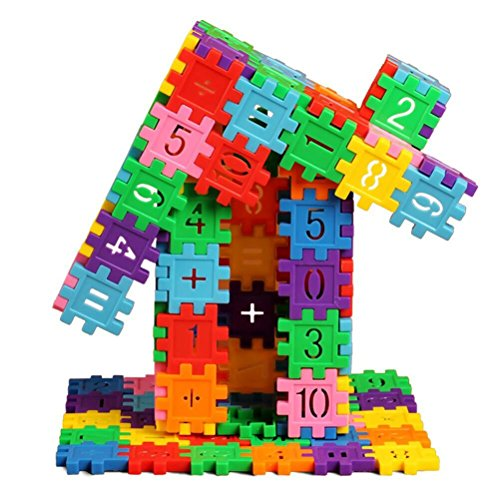 NICOSHINE Children's Plastic Play Puzzle Educational Building Blocks Bricks Toys (Puzzle Plastic)
