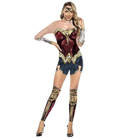 nihiug Justice League Cosplay Wonder Woman cos Monos Trajes ...