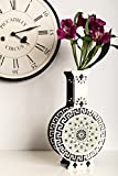 Greek Style Vase, Handmade Bud Flower Vase, Rustic Home Decor Gift, Wood Anniversary Gift for Wife, Girlfriend Anniversary Gift, Flower Gift Unique