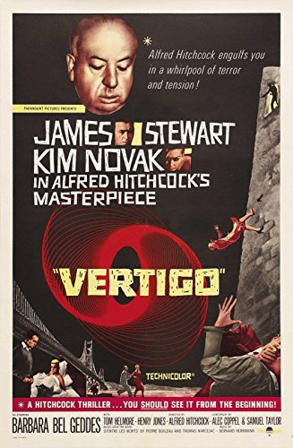 """Vertigo  Movie Poster 24""""x36"""""""