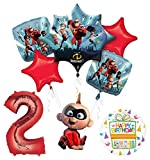 Mayflower Products Incredibles Jack Jack party supplies 2nd Birthday Balloon Bouquet Decorations