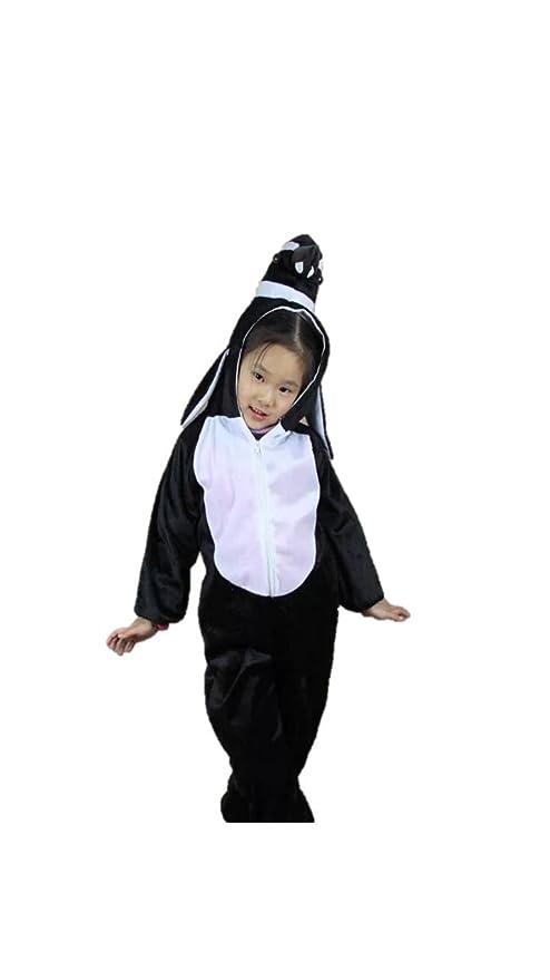 Matissa Niños Disfraces de Animales Niños Niñas Unisex Disfraces Cosplay  Niños Onesie (Pingüino eb5f186634f1