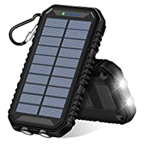 Cargador Solar 15000 mAh 2