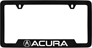 Acura ZDX Logo Chrome Plated Decorative Vanity License Plate OEM