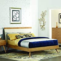 Anika Platform Bed in Light Ash - Eastern King