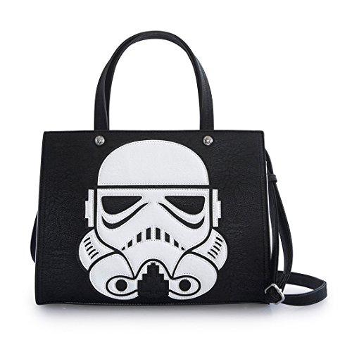 Loungefly Star Wars Laser Cut Storm Trooper Shoulder Bag - Handbag Millennium Leather