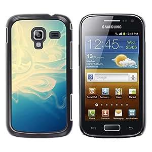 EJOY---Cubierta de la caja de protección la piel dura para el / Samsung Galaxy Ace 2 / --Motif bleu