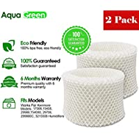AQUA GREEN 15508 Compatible With Kenmore 15508 Humidifier Replacement Wick Filter - 2-Pack