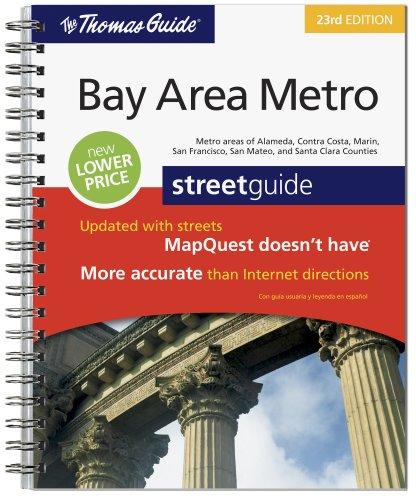 The Thomas Guide Bay Area Metro, California Street Guide,  23rd - Street Bay California