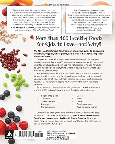 Amazon com: 101 Healthiest Foods for Kids: Eat the Best, Feel the