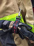 Leather Firefighter Glove Strap - Personalized Glove Tamer - Perfect Gift for Firefighters