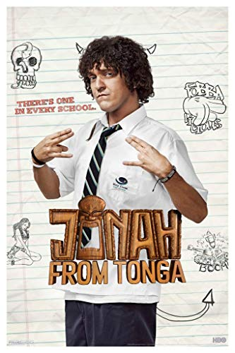 Pyramid America Jonah from Tonga TV Show Laminated Dry Erase Sign Poster 18x12