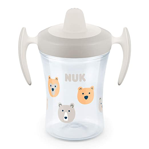 NUK Evolution Trainer Cup  230ml mit Trinktülle Tiger blue ab 6 Monate+