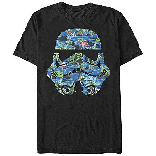 Stormtrooper Helmet Flamingo Print T Shirt