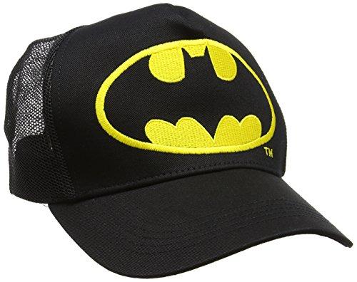 Talla Batman Adulto Negro Béisbol de Gorra Unisex única Logo xw01wTfqyS