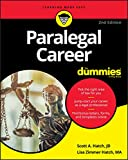 Paralegal Career For Dummies (For Dummies (Career/Education))