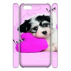 Dog CHA6026367 3D Art Print Design Phone Back Case Customized Hard Shell Protection Iphone 5C
