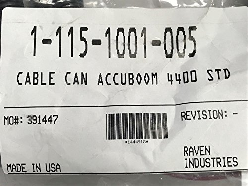 115-1001-005 RAVEN CABLE CAN ACCUBOOM 4400 STD by Raven