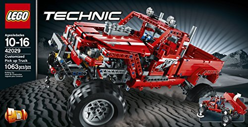 lego technic 42029 customized pick up truck import it all. Black Bedroom Furniture Sets. Home Design Ideas